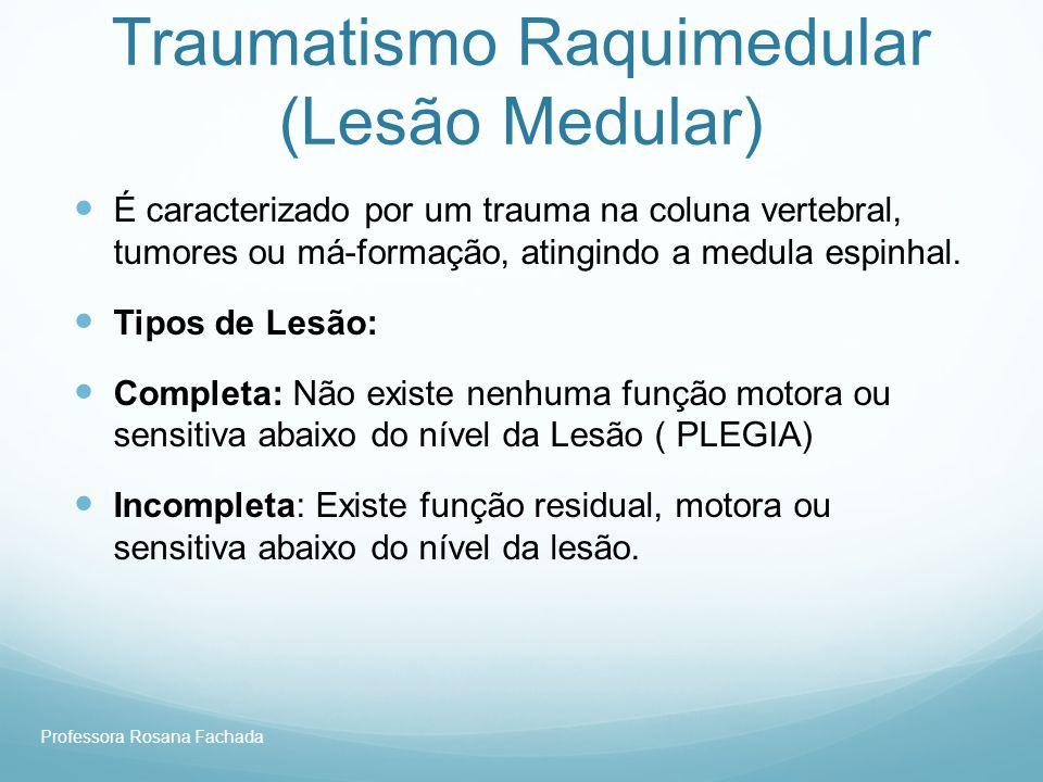 Traumatismo Raquimedular (Lesão Medular)