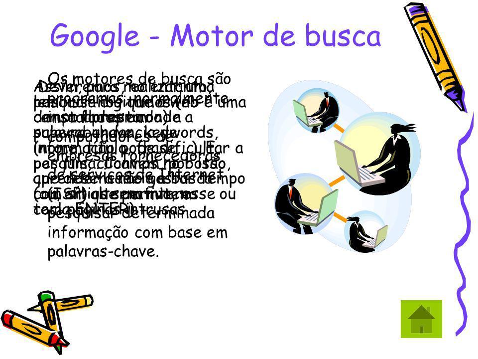 Google - Motor de busca
