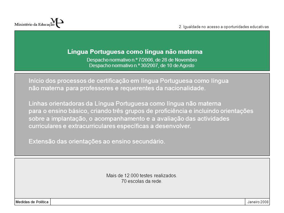 Língua Portuguesa como língua não materna