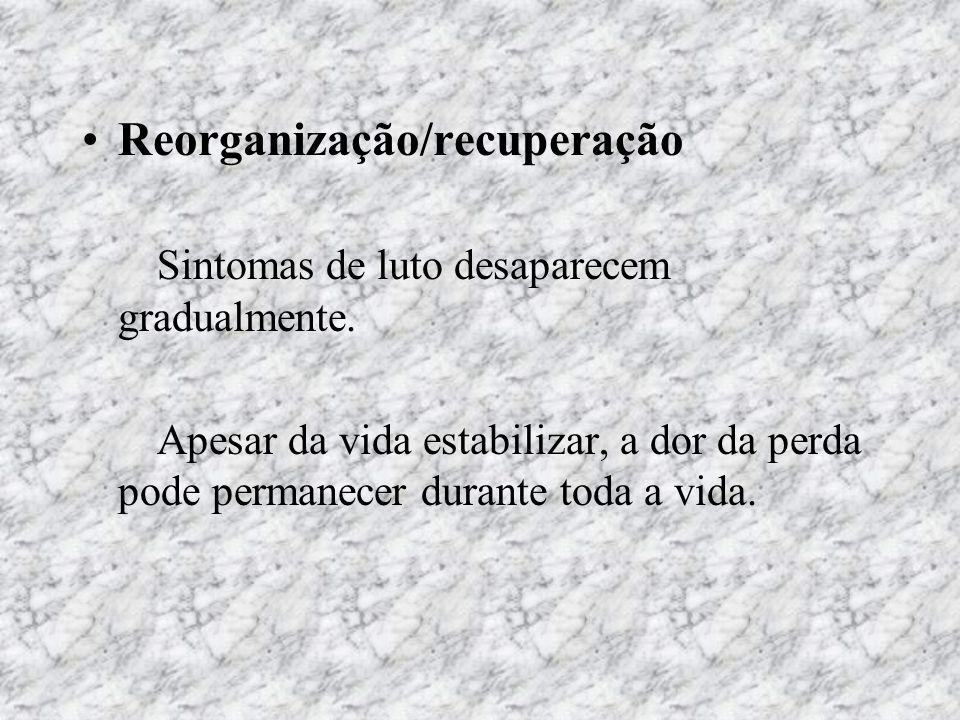 Reorganização/recuperação