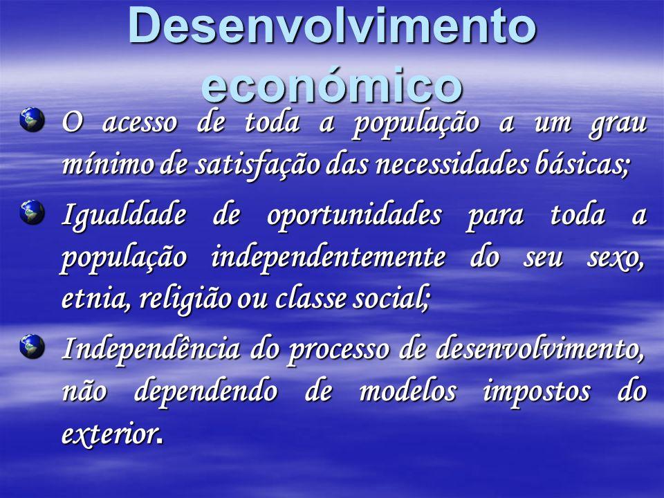 Desenvolvimento económico