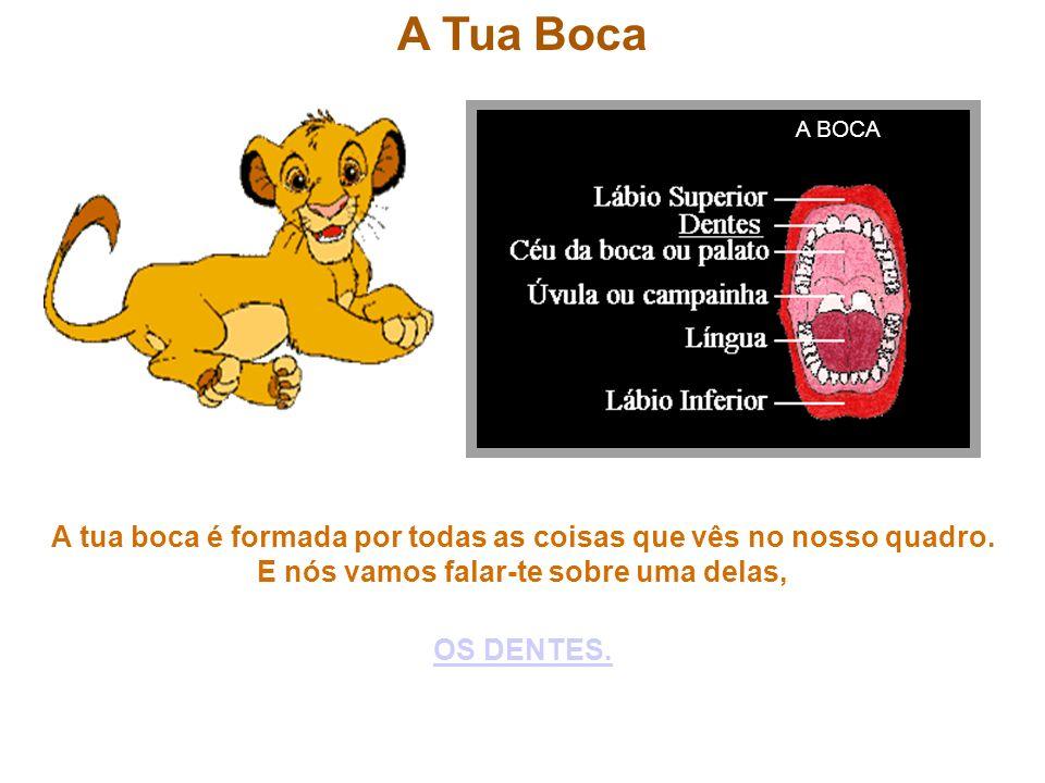 A Tua Boca A BOCA.