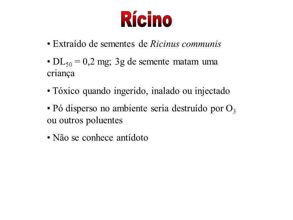 Rícino Extraído de sementes de Ricinus communis