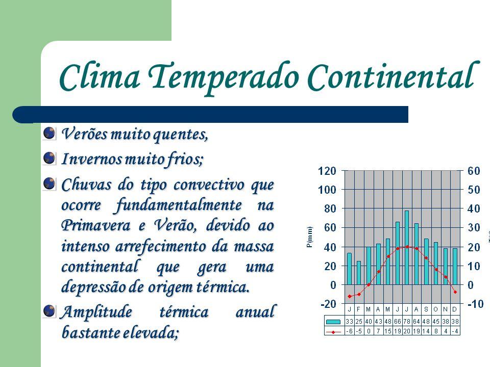Clima Temperado Continental