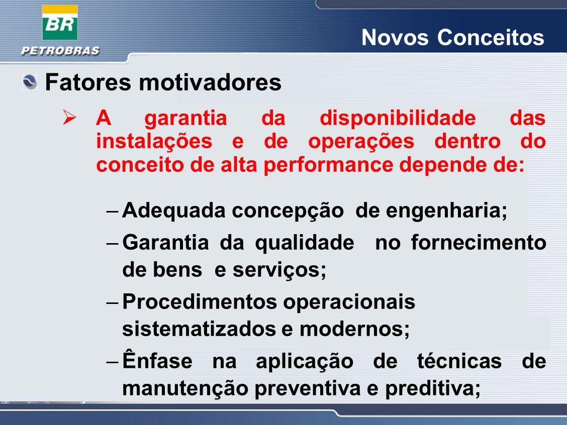 Fatores motivadores Novos Conceitos