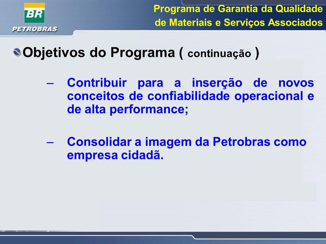 Objetivos do Programa ( continuação )