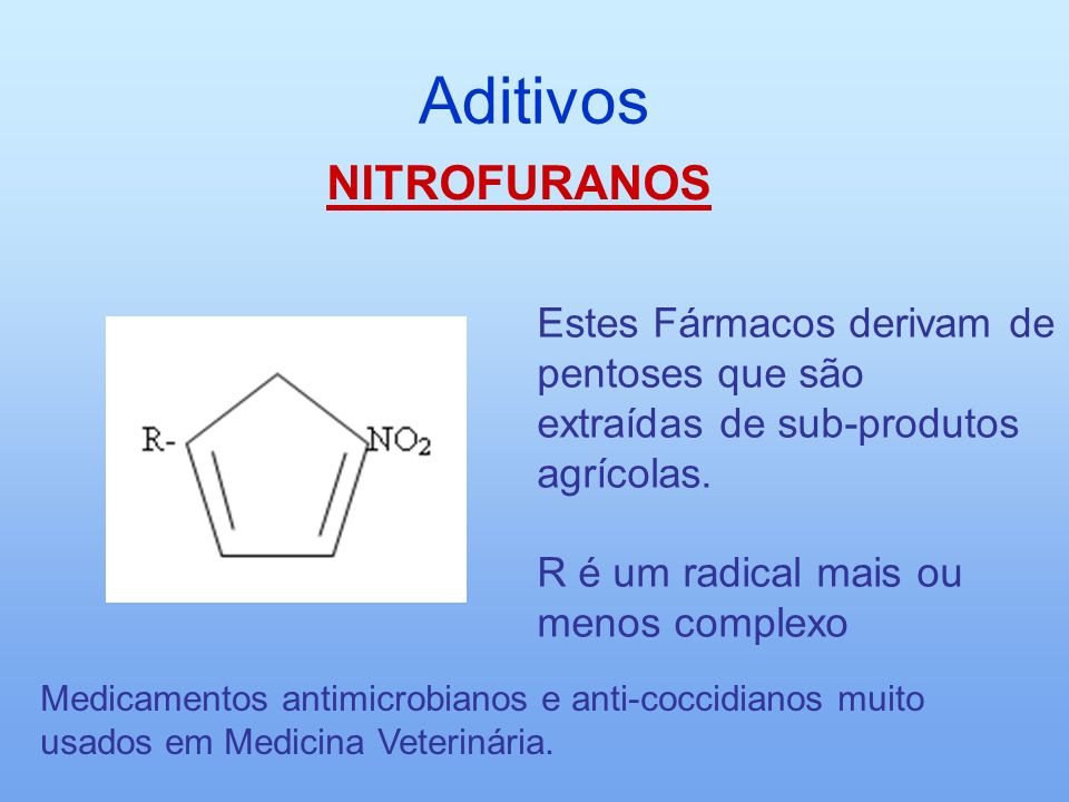 Aditivos NITROFURANOS