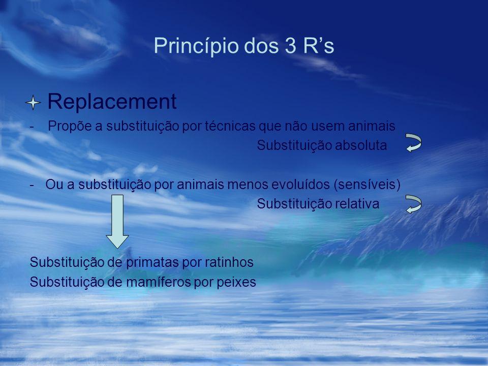 Princípio dos 3 R's Replacement
