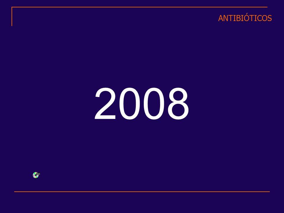 ANTIBIÓTICOS 2008