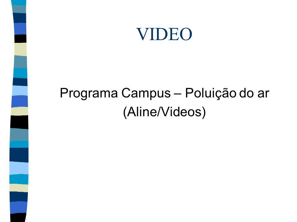 Programa Campus – Poluição do ar