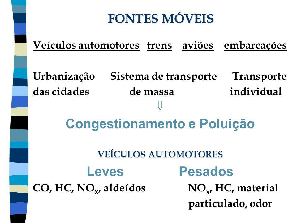 Congestionamento e Poluição