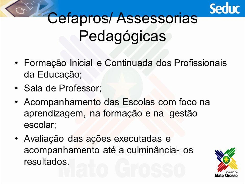 Cefapros/ Assessorias Pedagógicas