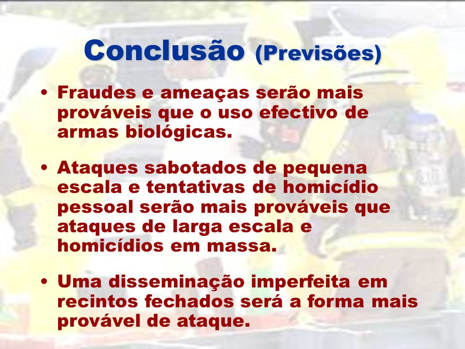 Conclusão (Previsões)