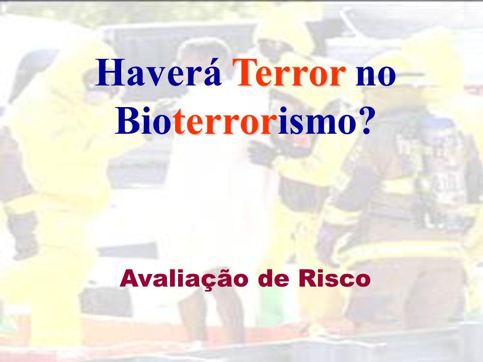 Haverá Terror no Bioterrorismo