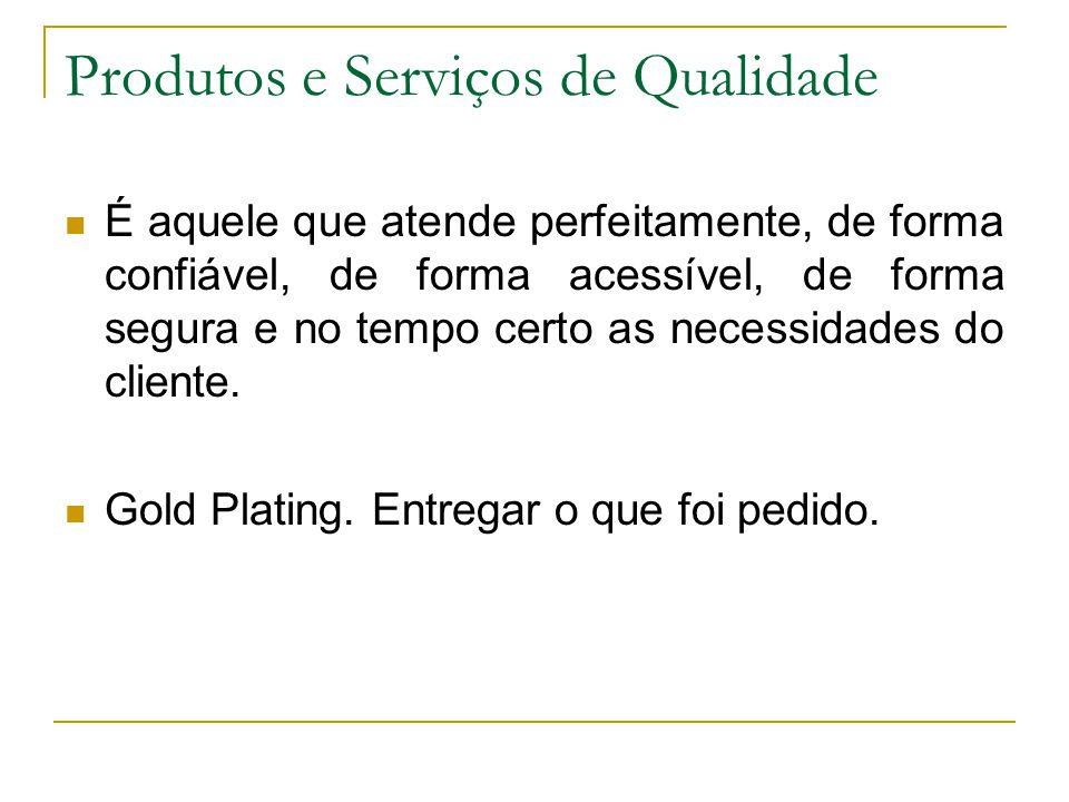 Produtos e Serviços de Qualidade
