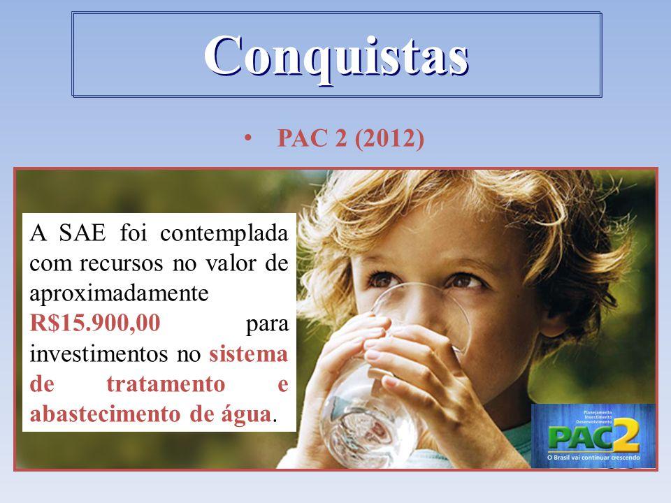 Conquistas PAC 2 (2012)
