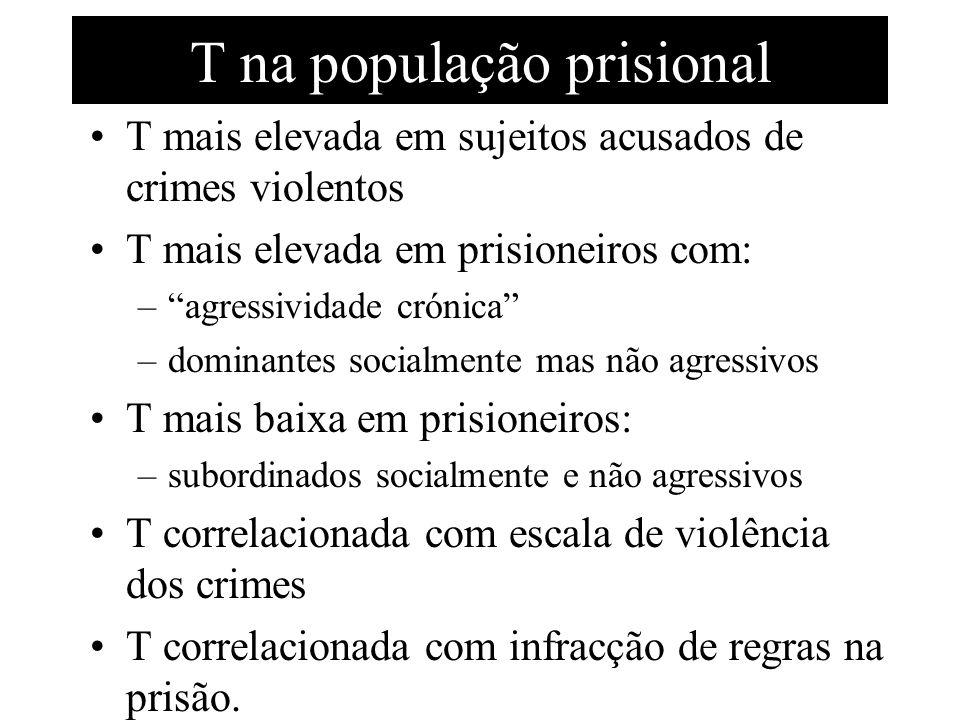 T na população prisional