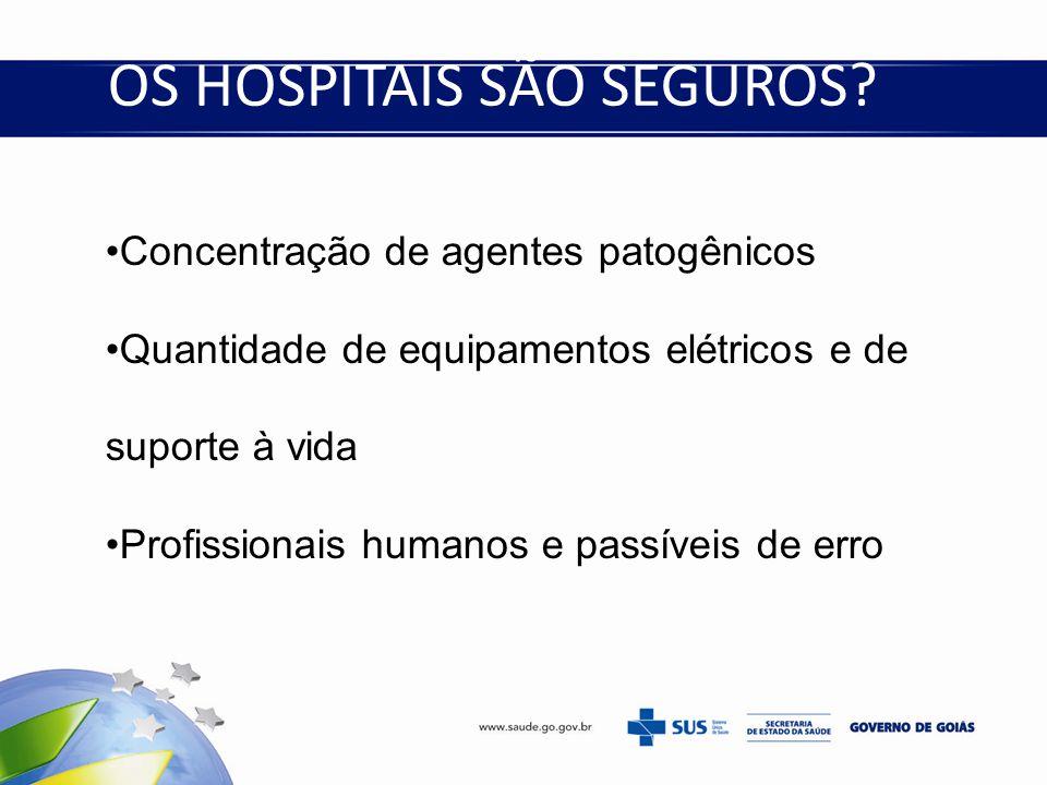 OS HOSPITAIS SÃO SEGUROS