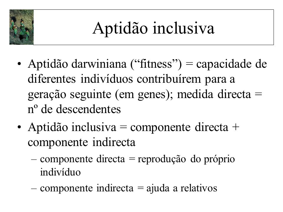 Aptidão inclusiva