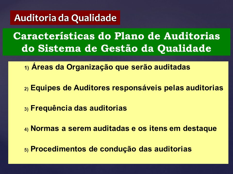 Auditoria da Qualidade