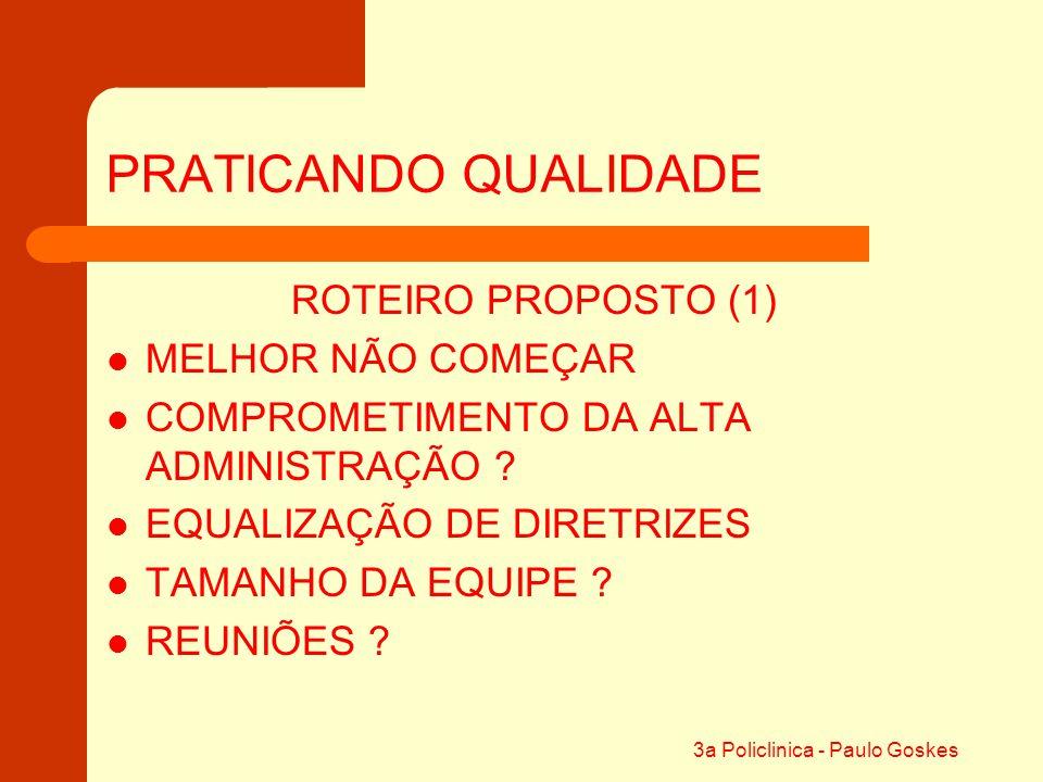 3a Policlinica - Paulo Goskes