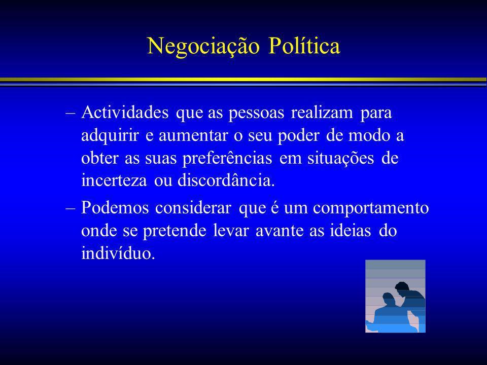 Negociação Política