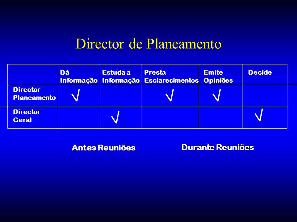 Director de Planeamento