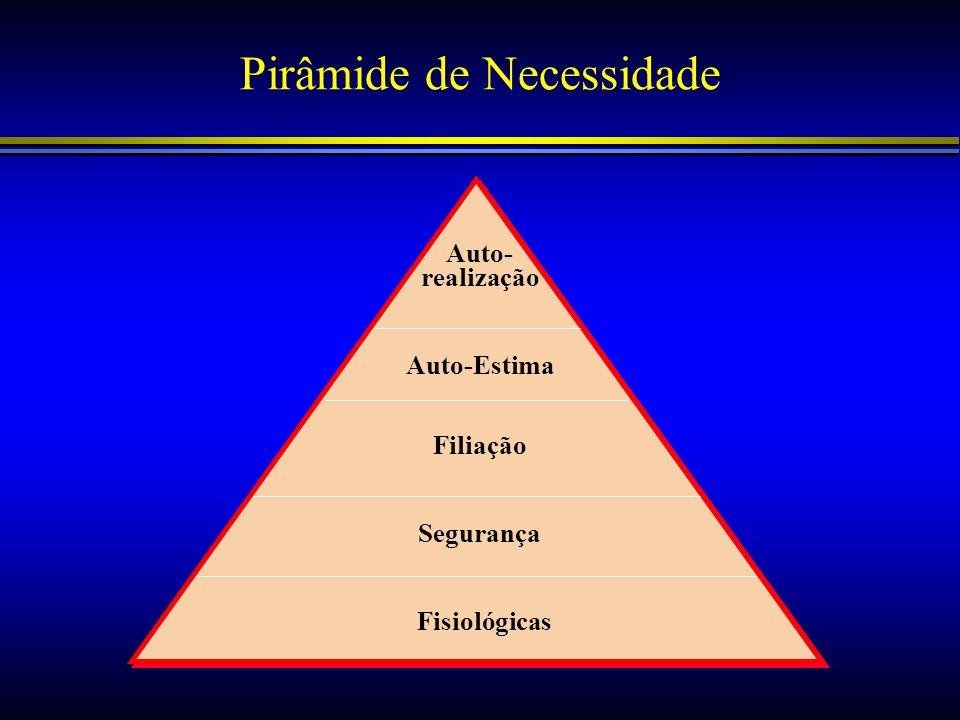 Pirâmide de Necessidade