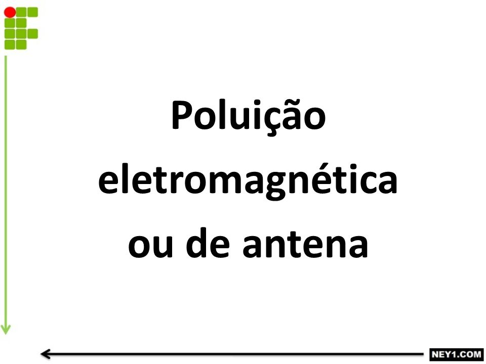 Poluição eletromagnética ou de antena