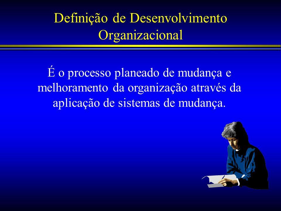 Definição de Desenvolvimento Organizacional