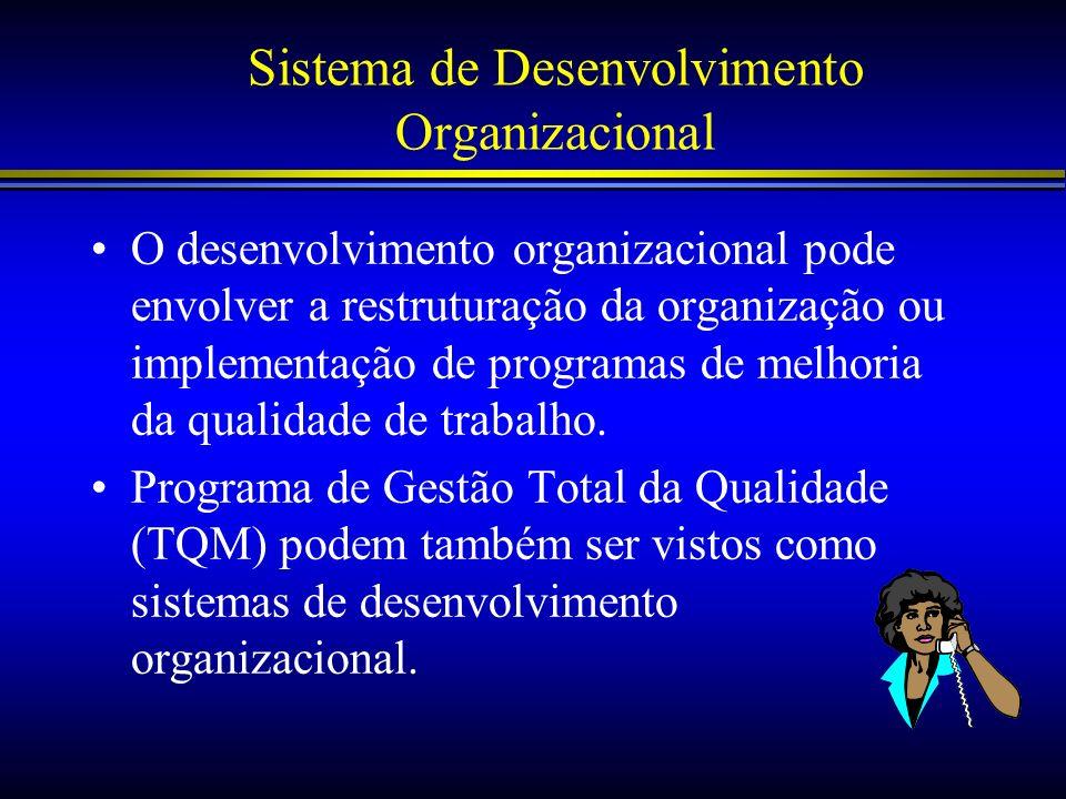 Sistema de Desenvolvimento Organizacional