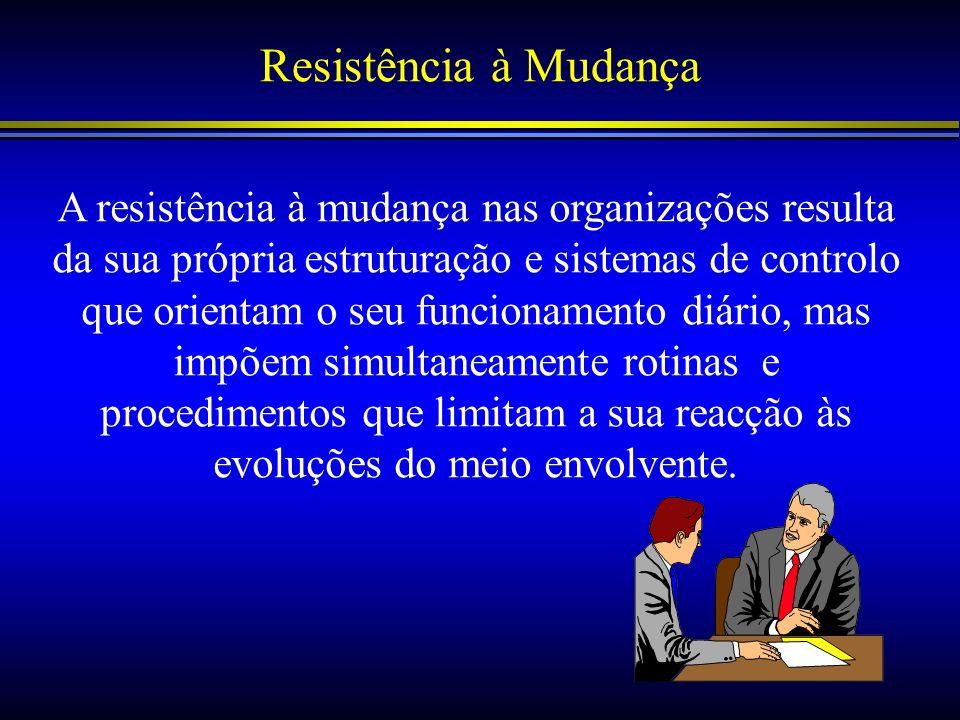 Resistência à Mudança