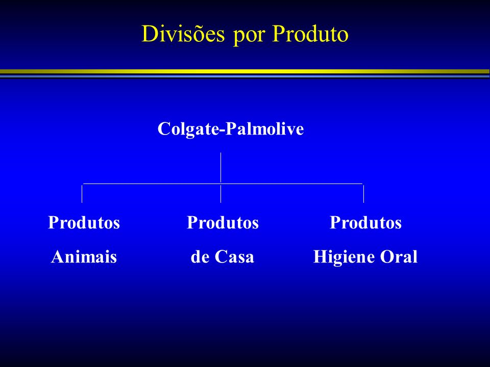 Divisões por Produto Colgate-Palmolive Produtos Animais Produtos