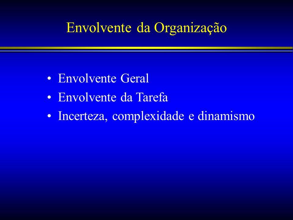 Envolvente da Organização