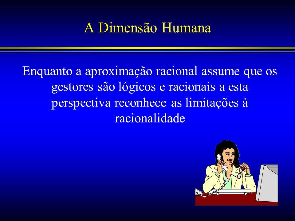 A Dimensão Humana