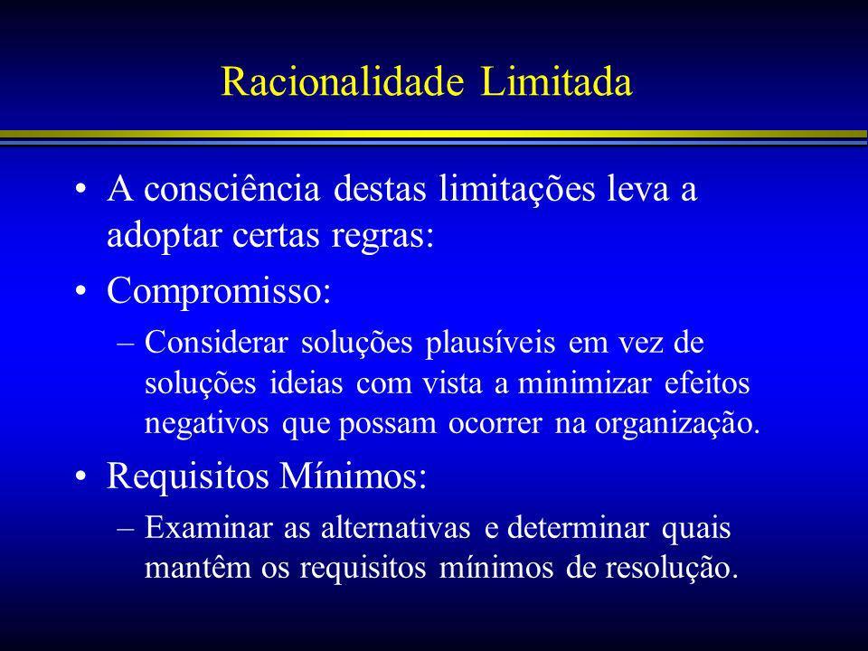 Racionalidade Limitada