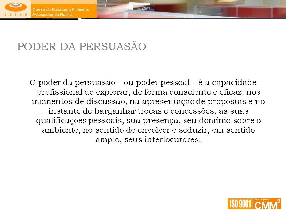 PODER DA PERSUASÃO