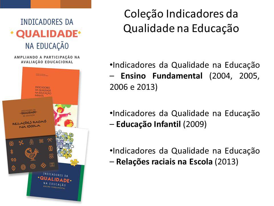 Coleção Indicadores da Qualidade na Educação
