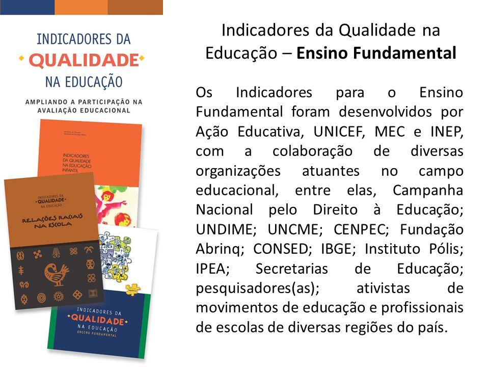 Indicadores da Qualidade na Educação – Ensino Fundamental