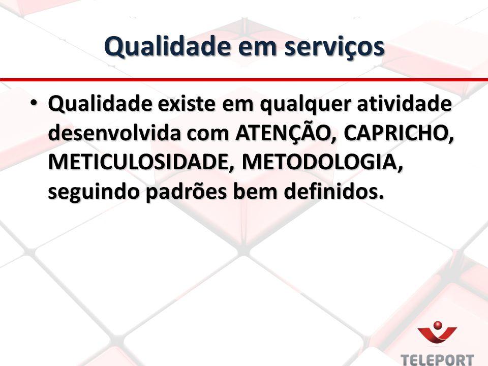 Qualidade em serviços
