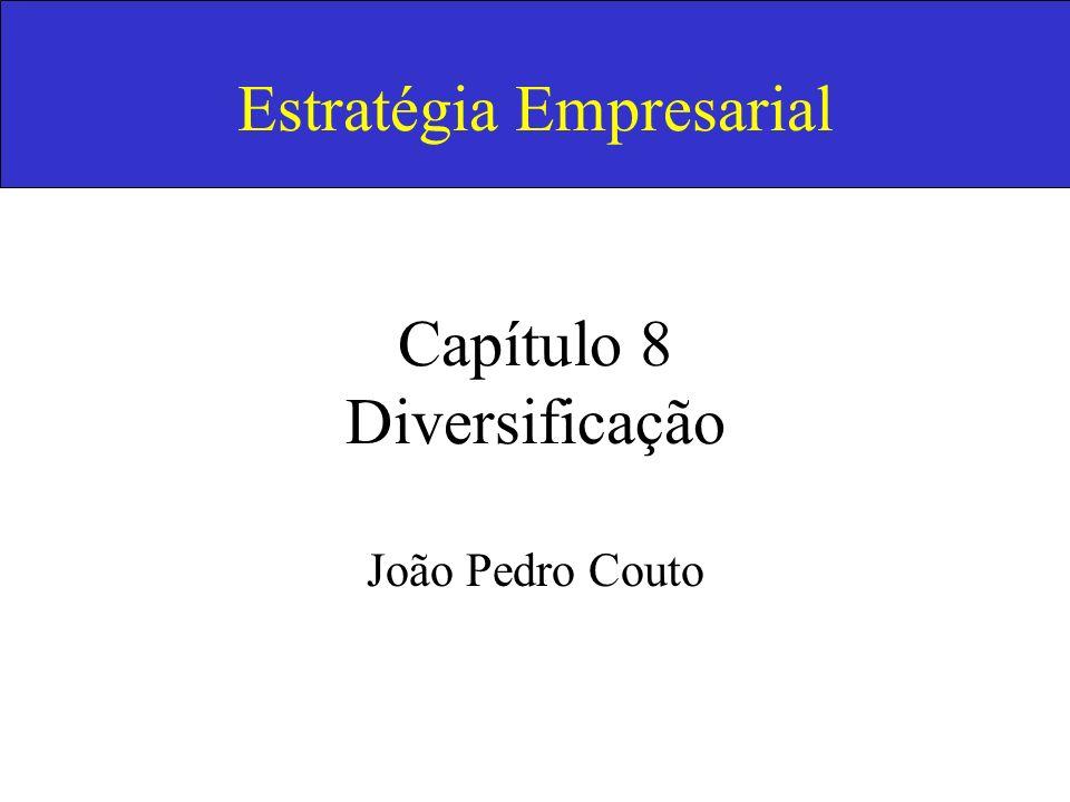 Estratégia Empresarial Capítulo 8 Diversificação