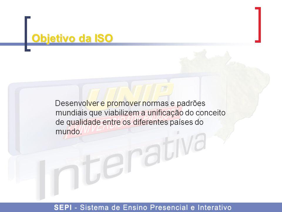 Objetivo da ISO