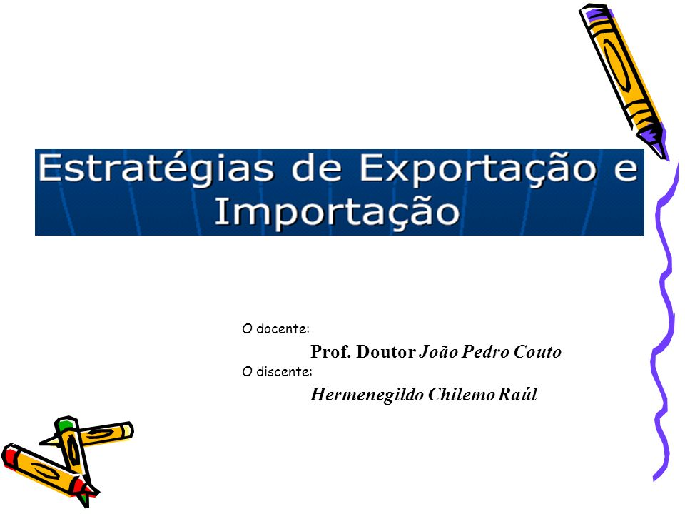 Prof. Doutor João Pedro Couto Hermenegildo Chilemo Raúl
