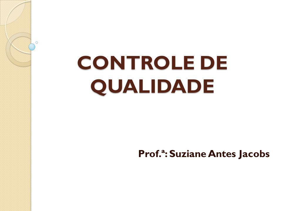 Prof.ª: Suziane Antes Jacobs