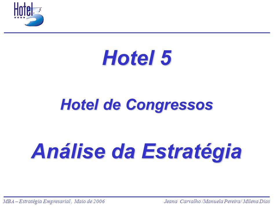 Hotel 5 Hotel de Congressos Análise da Estratégia