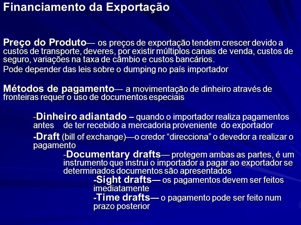 Financiamento da Exportação