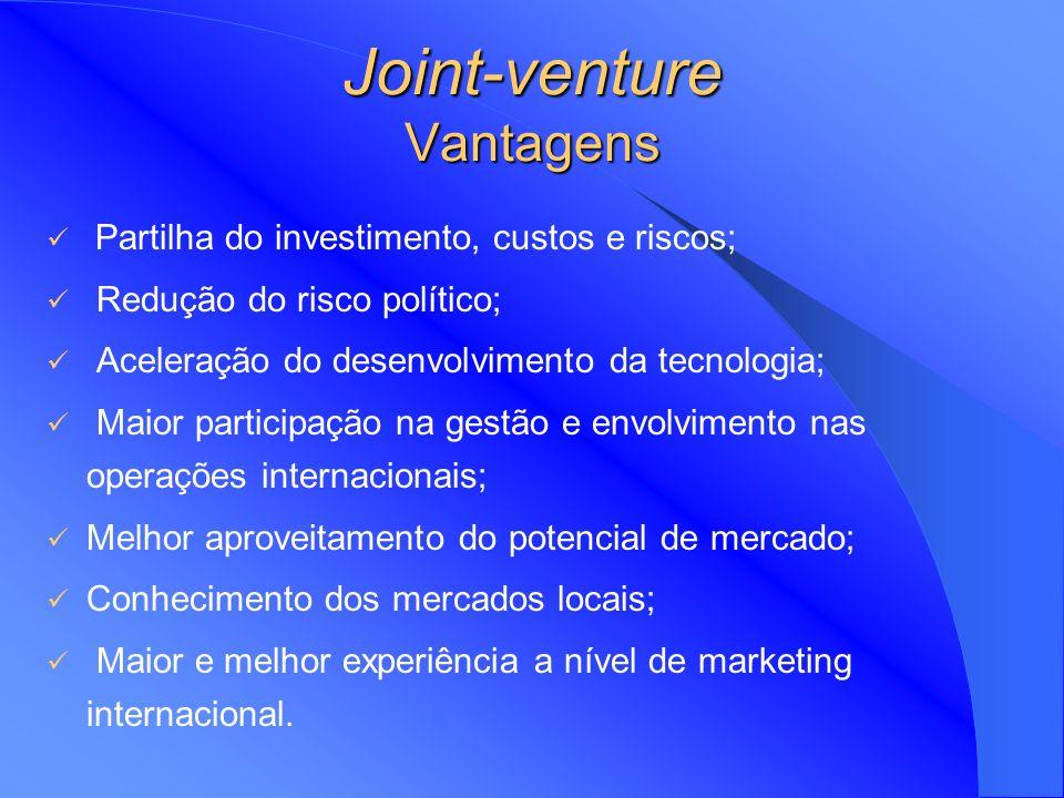 Joint-venture Vantagens