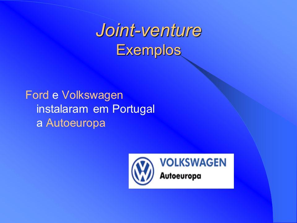 Joint-venture Exemplos