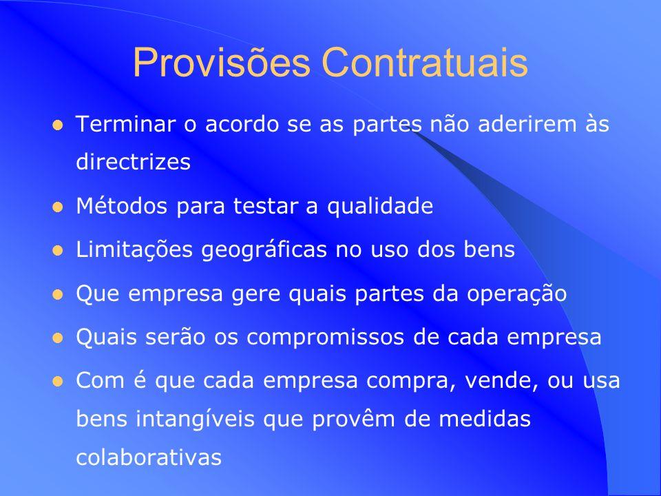 Provisões Contratuais