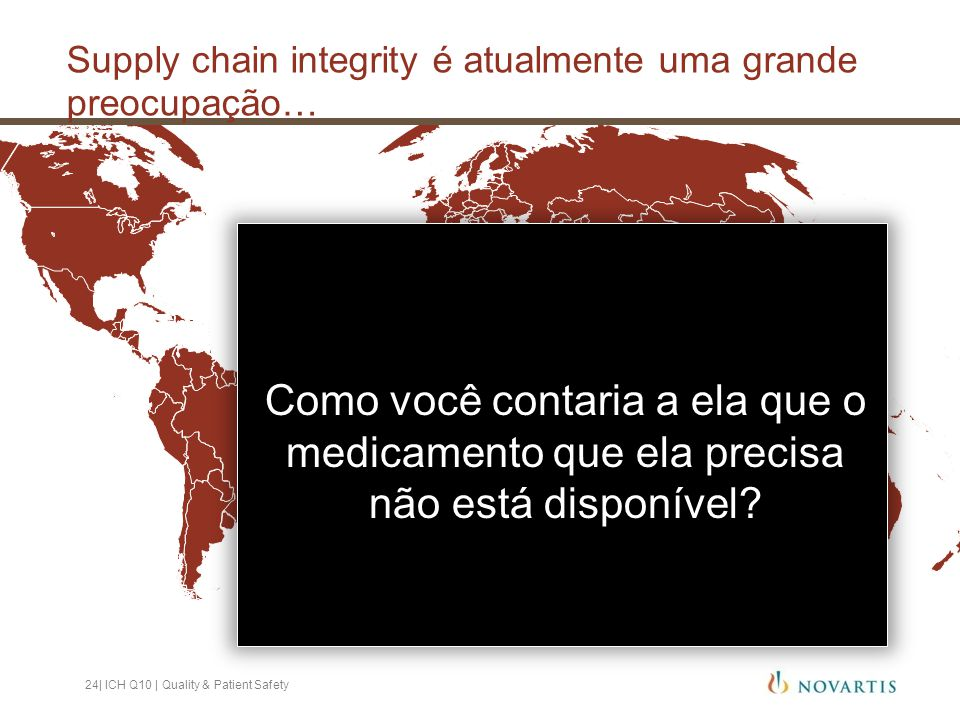 Supply chain integrity é atualmente uma grande preocupação…